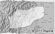 Gray 3D Map of Ifugao