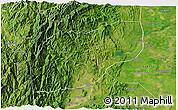 Satellite 3D Map of Ifugao
