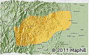 Savanna Style 3D Map of Ifugao