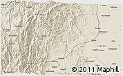 Shaded Relief 3D Map of Ifugao