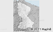 Gray 3D Map of Kalinga-Apayao