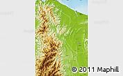 Physical Map of Kalinga-Apayao