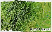 Satellite 3D Map of Mountain