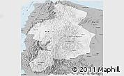 Gray Panoramic Map of CAR