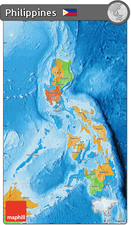 Free Political Map Of Philippines