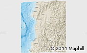 Shaded Relief 3D Map of Ilocos Sur