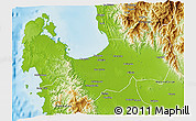 Physical 3D Map of Pangasinan
