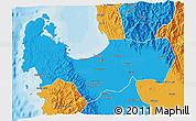 Political 3D Map of Pangasinan