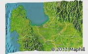 Satellite 3D Map of Pangasinan