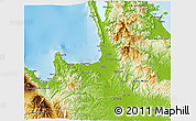 Physical 3D Map of Agusan Del Norte