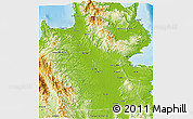 Physical 3D Map of Agusan Del Sur