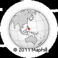 Outline Map of Davao Del Norte