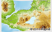 Physical 3D Map of Lanao Del Norte