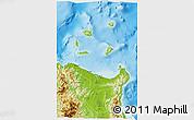 Physical 3D Map of Cagayan