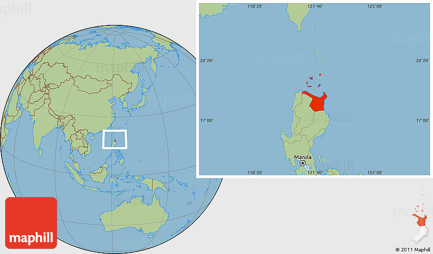 Cagayan Philippines Map.Savanna Style Location Map Of Cagayan