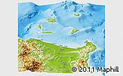 Physical Panoramic Map of Cagayan