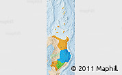Political Map of Region 2, lighten