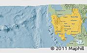 Savanna Style 3D Map of Region 3