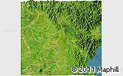 Satellite 3D Map of Nueva Ecija
