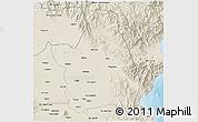 Shaded Relief 3D Map of Nueva Ecija