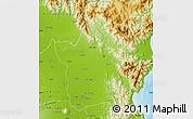Physical Map of Nueva Ecija