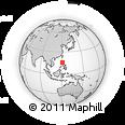 Outline Map of Nueva Ecija