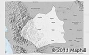 Gray 3D Map of Tarlac