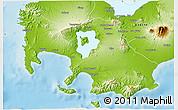 Physical 3D Map of Batangas