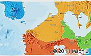 Political 3D Map of Cavite
