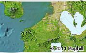 Satellite 3D Map of Cavite