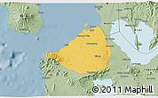 Savanna Style 3D Map of Cavite