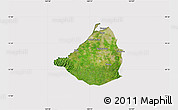 Satellite Map of Cavite, cropped outside