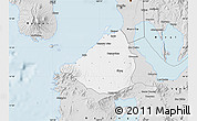 Silver Style Map of Cavite