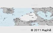 Gray Panoramic Map of Cavite