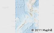 Shaded Relief Map of Region 4, lighten