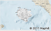 Classic Style 3D Map of Marinduque