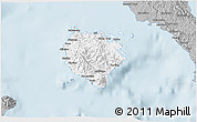 Gray 3D Map of Marinduque