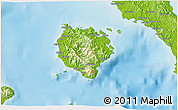 Physical 3D Map of Marinduque