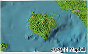 Satellite 3D Map of Marinduque