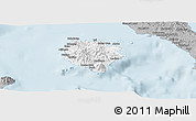 Gray Panoramic Map of Marinduque