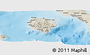 Shaded Relief Panoramic Map of Marinduque