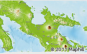 Physical 3D Map of Camarines Sur
