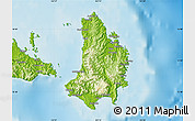 Physical Map of Catanduanes