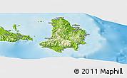 Physical Panoramic Map of Catanduanes
