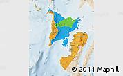 Political Map of Region 6, lighten