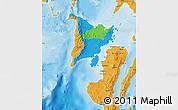 Political Map of Region 6