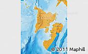 Political Shades Map of Region 6