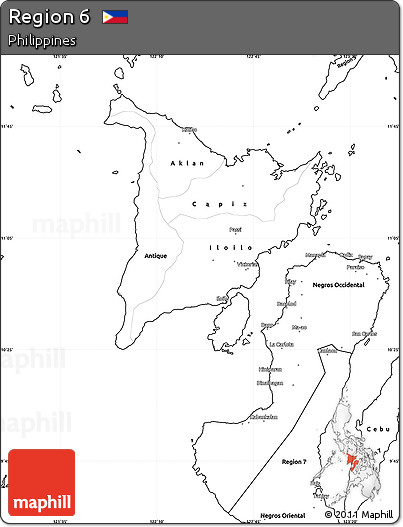 Pin Philippines free blank map on Pinterest