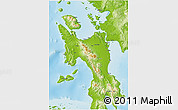 Physical 3D Map of Leyte