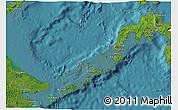 Satellite 3D Map of Region 9